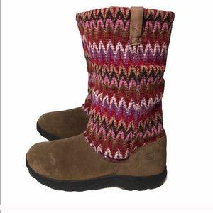 Keen girls Auburn winter snow boot size 4